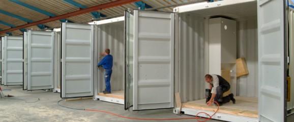 Containerløsninger til lyddæmpning, offshore, generator/teknik, lager/opbevaring, værksted, mandskab og byggeplads.