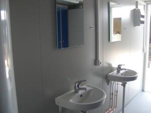 Håndvaske med spejle