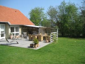 Huset i Virum før tilbygningen.