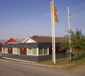Kontorbygninger til Natural i Uhre ved Brande.