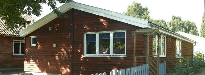 SFO-lokaler bygget i landlig stil til Det Tyske Fritidshjem i Aabenraa
