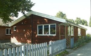 SFO-lokaler bygget i landlig stil til Det Tyske Fritidshjem i Aabenraa.
