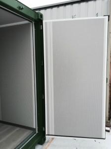 Lydisolerede døre